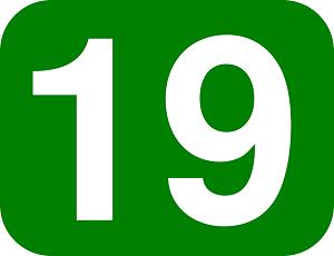"""Attēlu rezultāti vaicājumam """"number 19"""""""